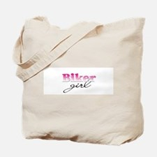 Biker girl Tote Bag