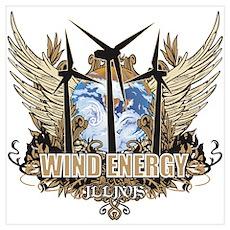Illinois Wind Energy Poster