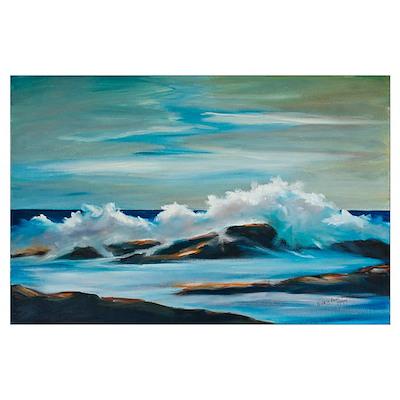 Ocean's Surf Poster