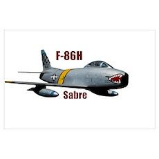 F-86H Sabre 2 Poster