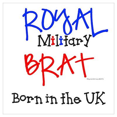 UK BRATS Poster