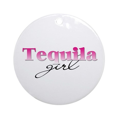 Tequila girl Ornament (Round)