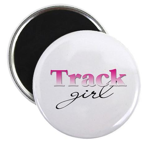 Track girl Magnet
