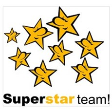 SuperStar Team Poster