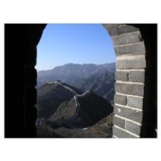 Great Wall of China Canvas Art