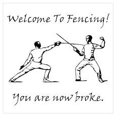 Fencing Broke! Poster