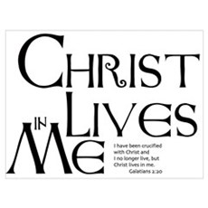 Christ Lives in Me Poster