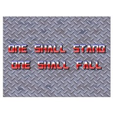 One Shall Stand... 2.0 Canvas Art