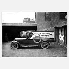 Butcher Shop Delivery Truck, 1926