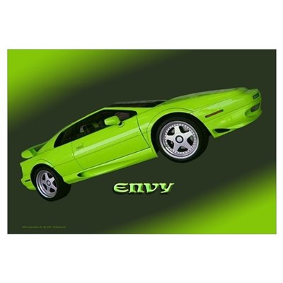'Lotus Esprit: Envy' Framed Print