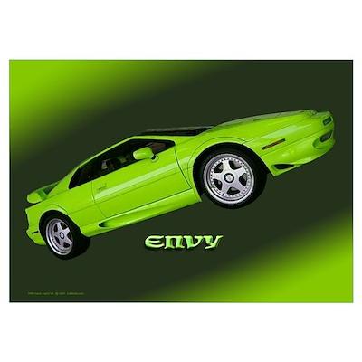 'Lotus Esprit: Envy' Poster