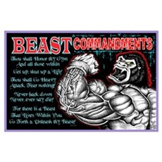 BEAST Commandments Poster