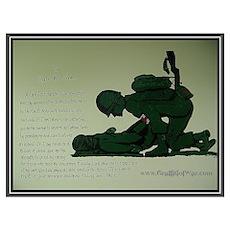 - Combat Medic Prayer Poster