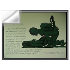 - Combat Medic Prayer Wall Decal