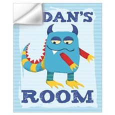 Aidan's ROOM Mallow Monster 16x20 Wall Decal