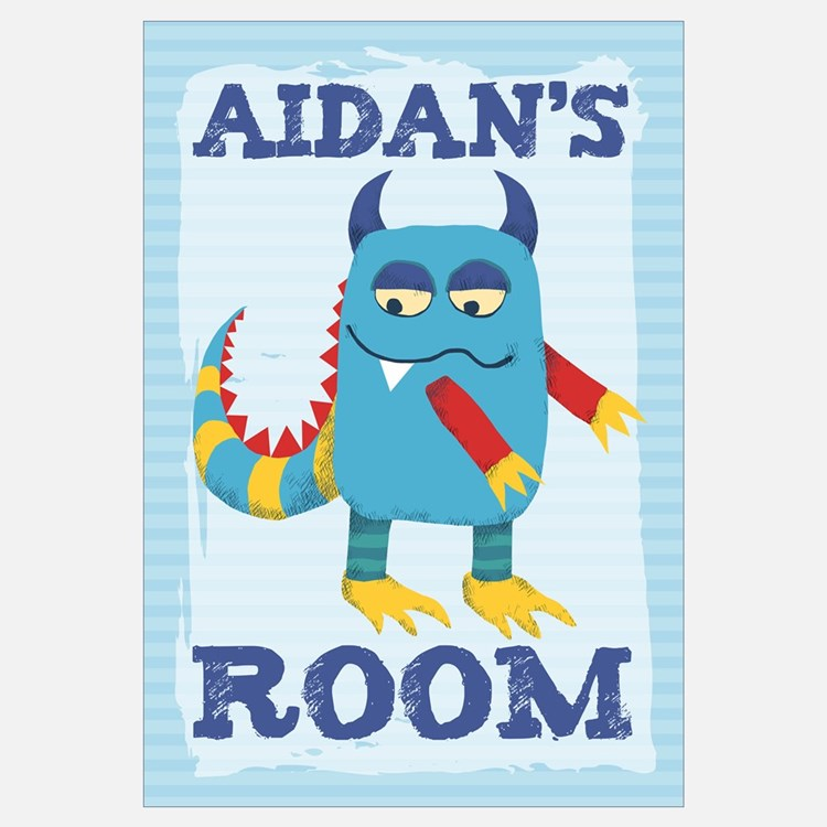 Aidan's ROOM Mallow Monster 16x20