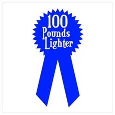 100 Pounds Award Poster