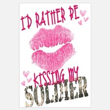 I'd rather be kissing...