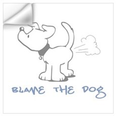 Blame the Dog Wall Decal