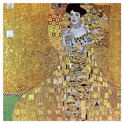 Gustav Klimt Adele Bloch-Bauer II Medium Poster