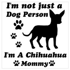 Chihuahua mommy Framed Print