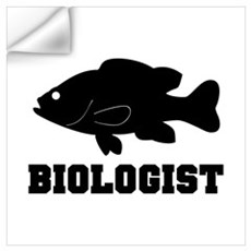 Biologist (fish) Wall Decal