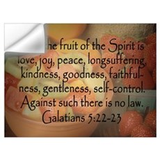 Fruit of the Spirit Galatians 5 Wall Decal