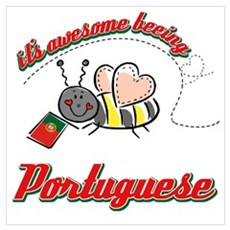 Awesome Being Portuguese Poster