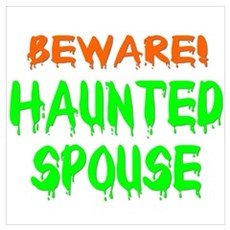 Haunted Spouse Poster
