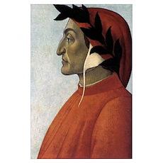 Portrait of Dante Poster