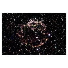 Cassiopeia A, Supernova Poster