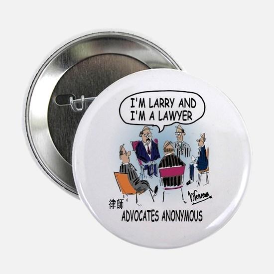 """Litigation Lawyer's 2.25"""" Button"""