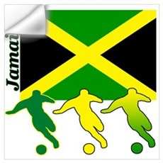 Jamaica Soccer Wall Decal