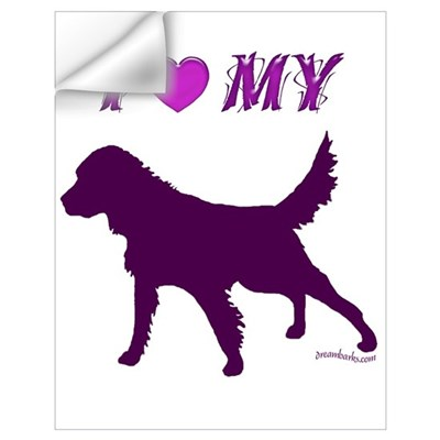 Setter Plum Wall Decal