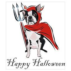 Happy Halloween Boston Poster