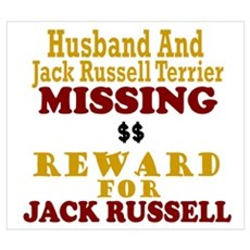 Husband & Jack Russell Terrier Missing Poster