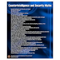 CI & Security Myths 16x20 Poster
