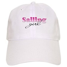 Sailing girl Baseball Cap