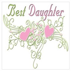 Best Daughter Hearts Poster