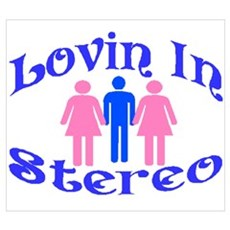 Man Stereo Poster