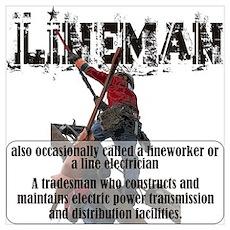 Lineman Poster
