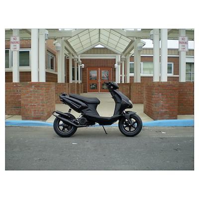 Scooter School Poster