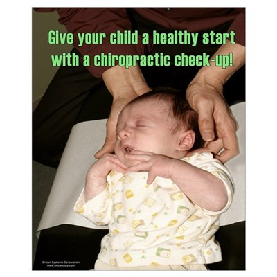 Infant Chiropractic 16x20 Poster