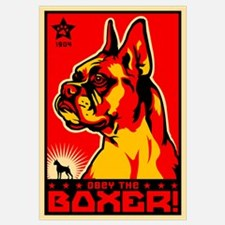 Obey the Boxer! Cropped Ear