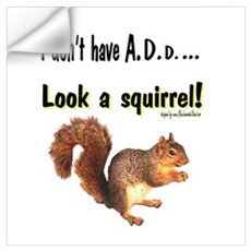 ADD Squirrel Wall Decal