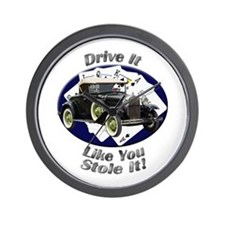 Ford Model A Wall Clock