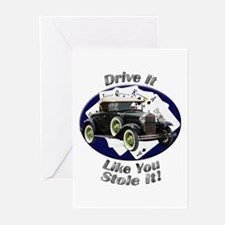 Ford Model A Greeting Cards (Pk of 20)
