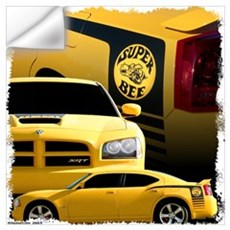 2007 Super Bee Wall Decal