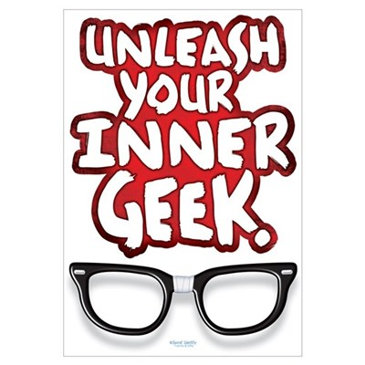 Inner Geek Canvas Art