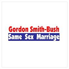 Gordon Smith-Bush Poster